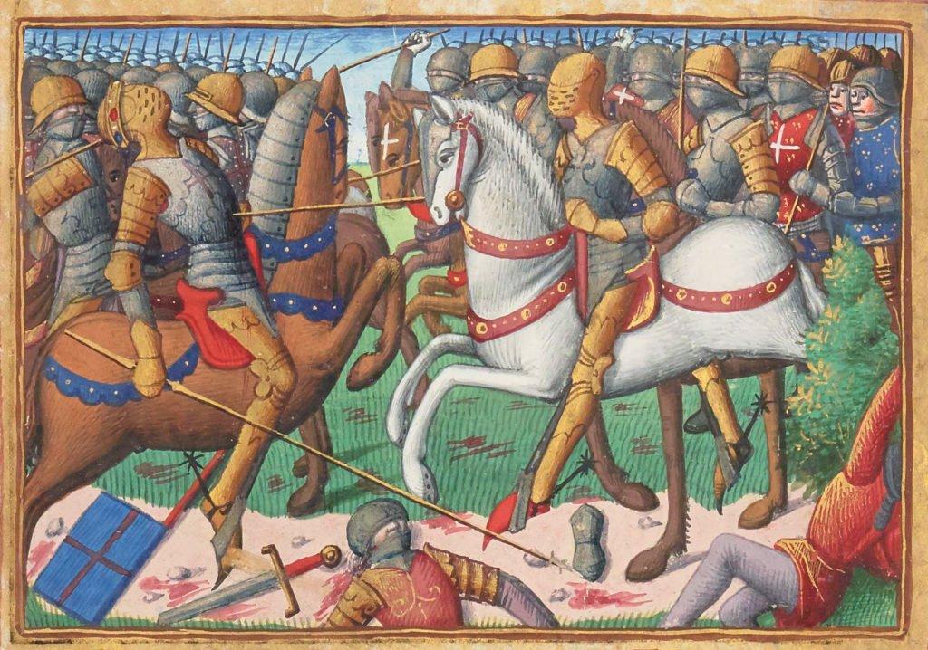 Bataille Baugé guerre 100 ans