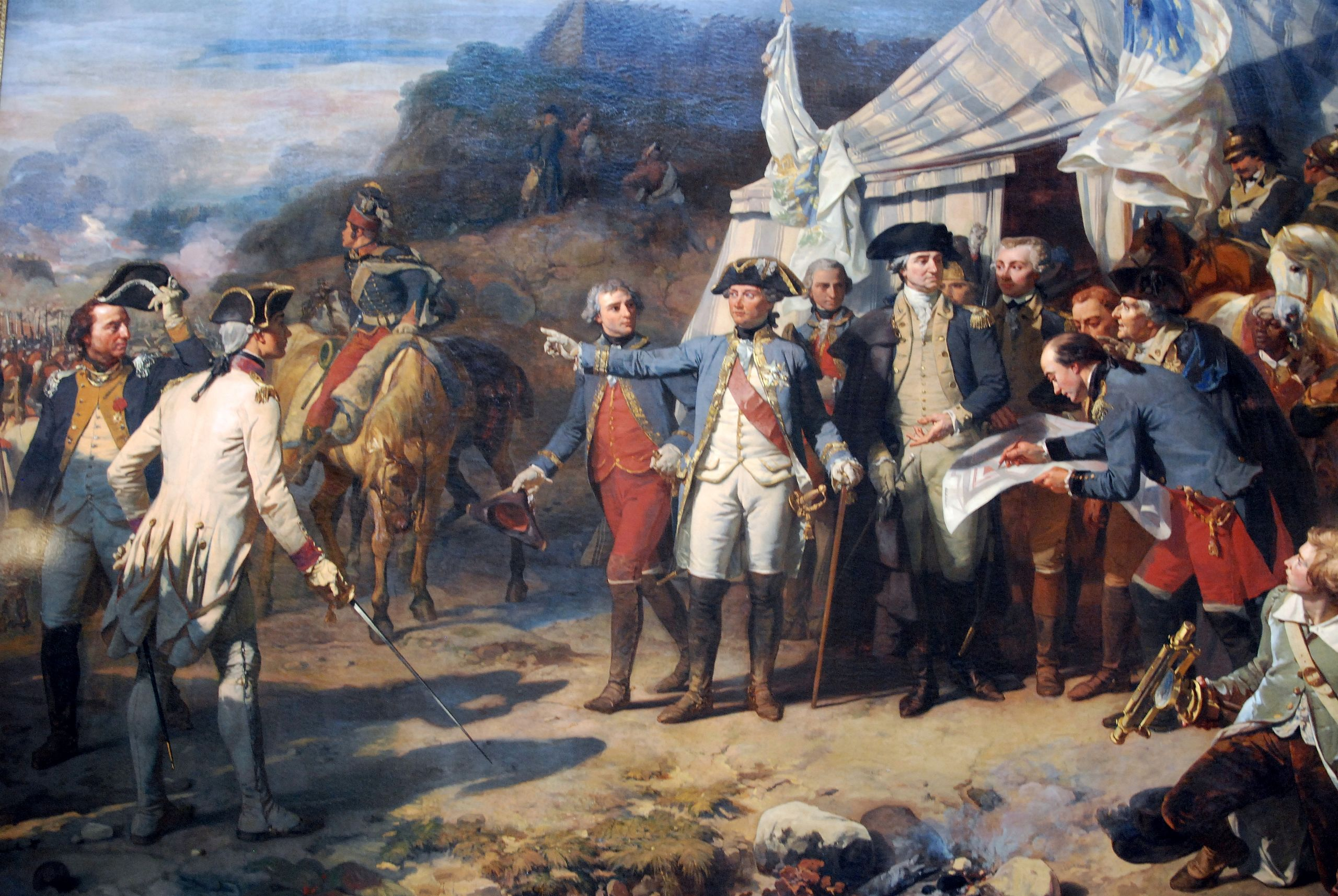 Rochambeau à Yorktown