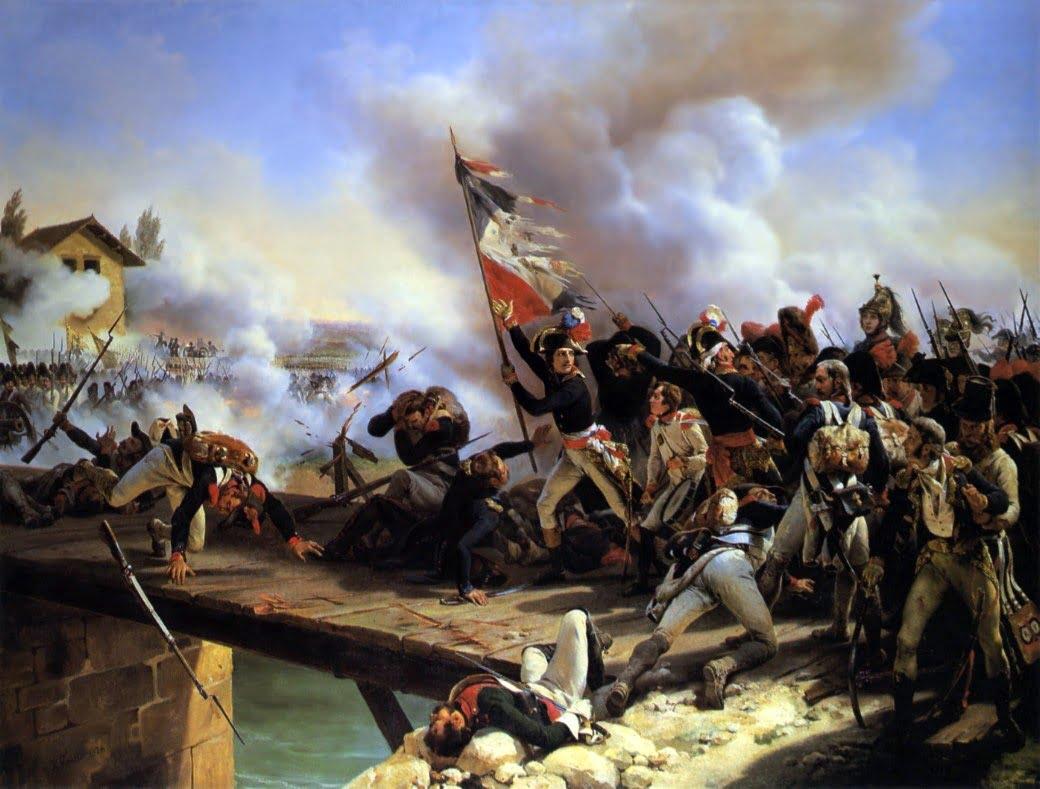 Napoléon, tacticien et stratège à la bataille du pont d'Arcole