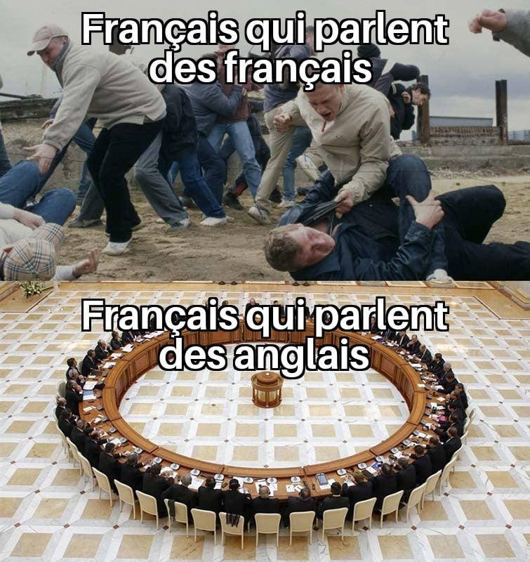 meme français anglais