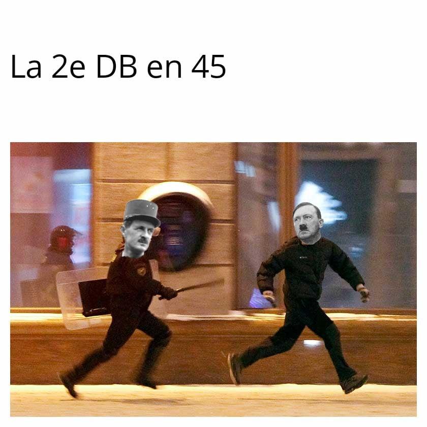 Meme la 2DB en 45