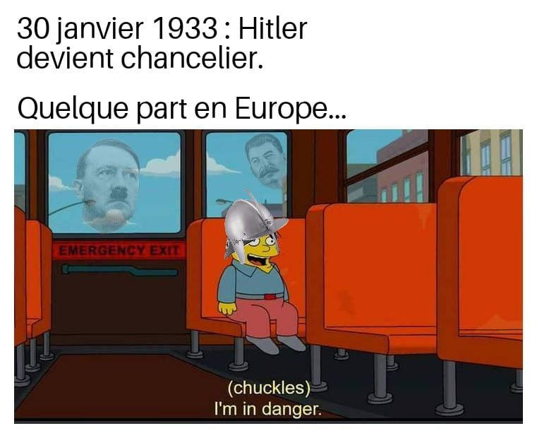 Meme sur Hitler et la Pologne