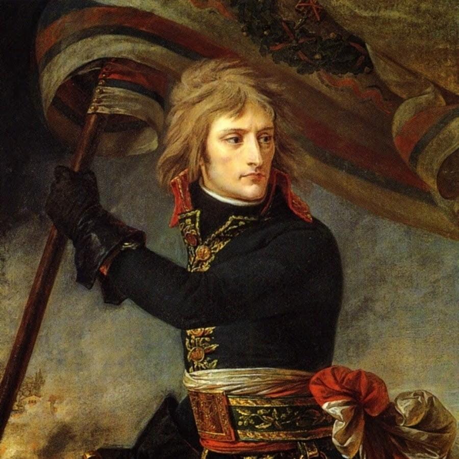 napoléon porte étendard