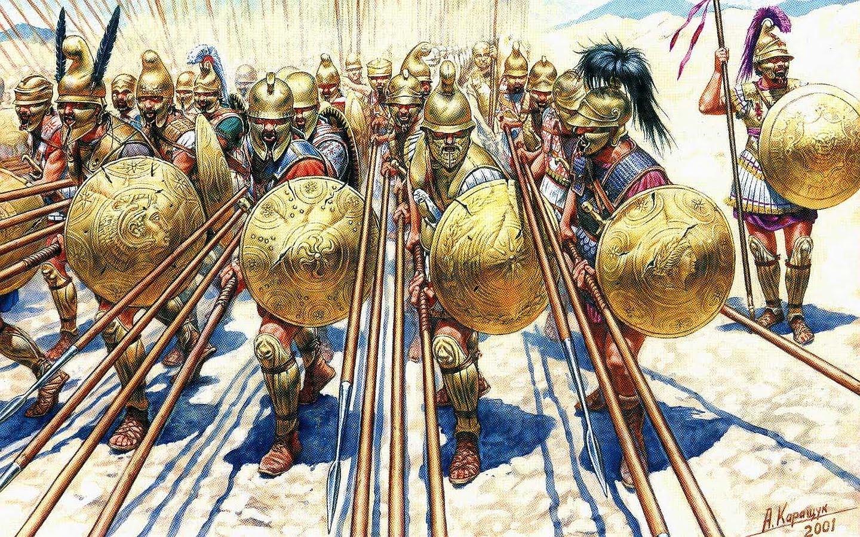 Hoplites phallange