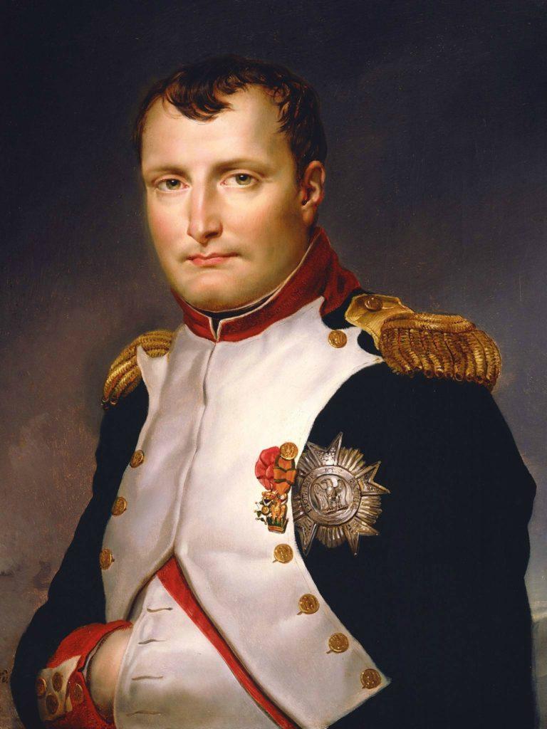 napoléon en uniforme
