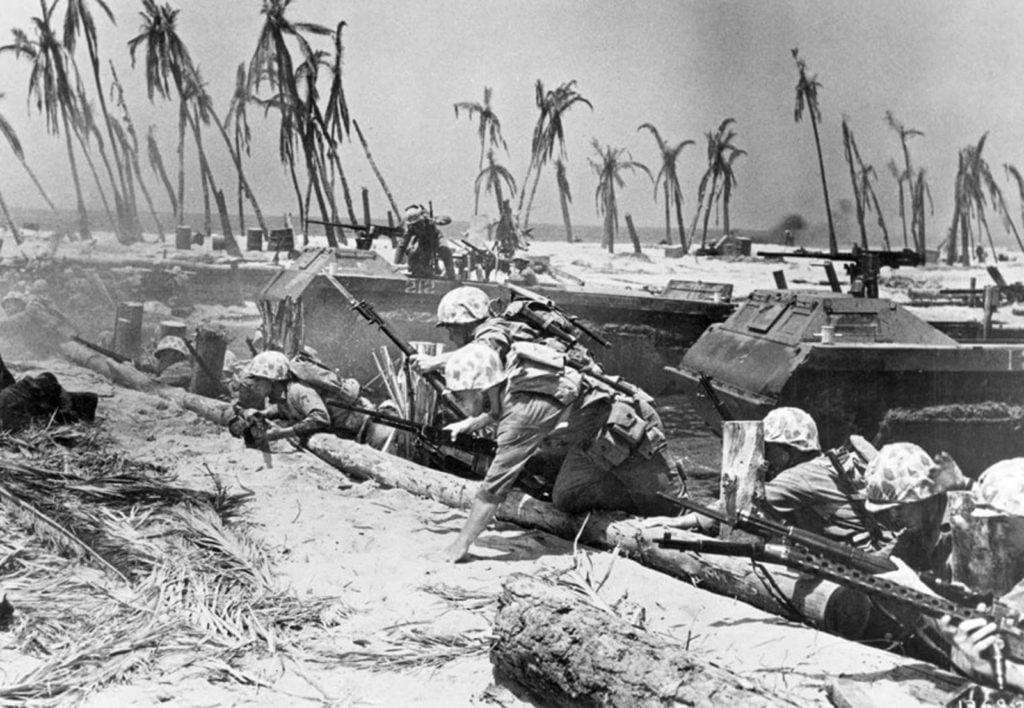 Assaut us marines bataille de Tarawa