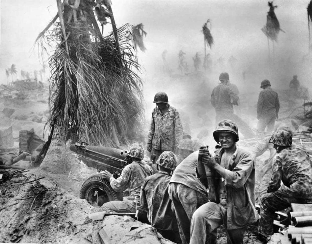 Bataille de tarawa combats