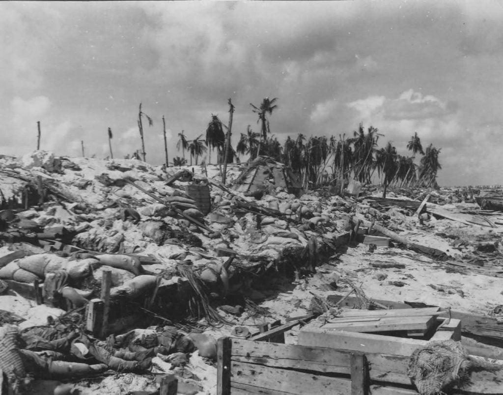 Tarawa après la bataille