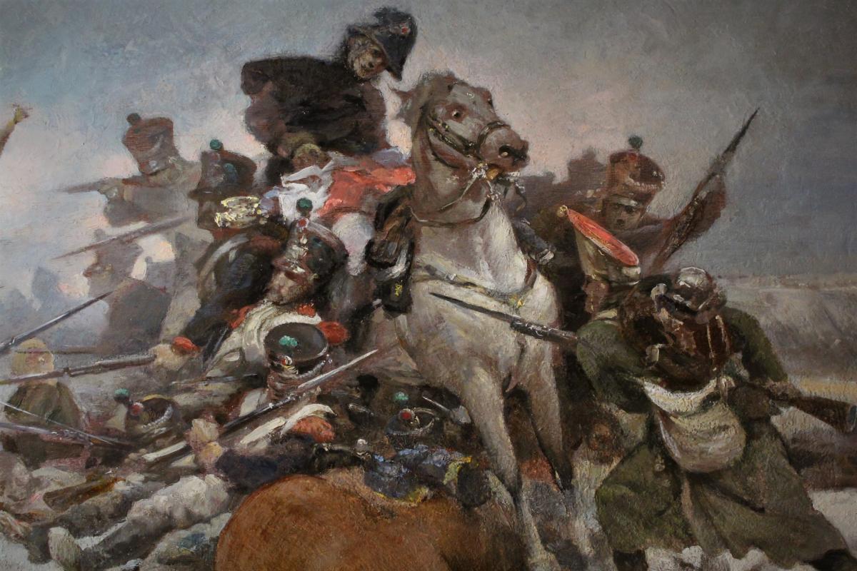 La mort à la bataille d'Eylau