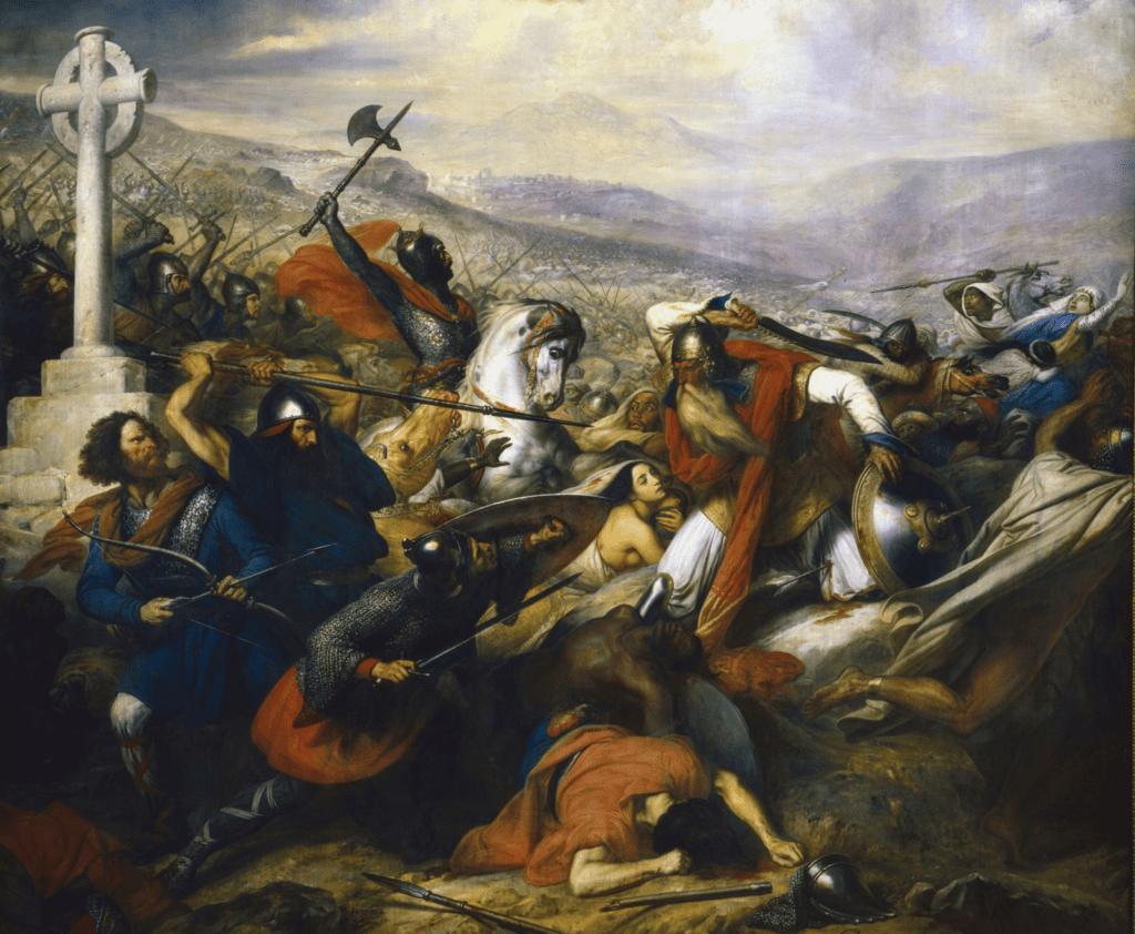 Charles Martel Bataille de Poitiers
