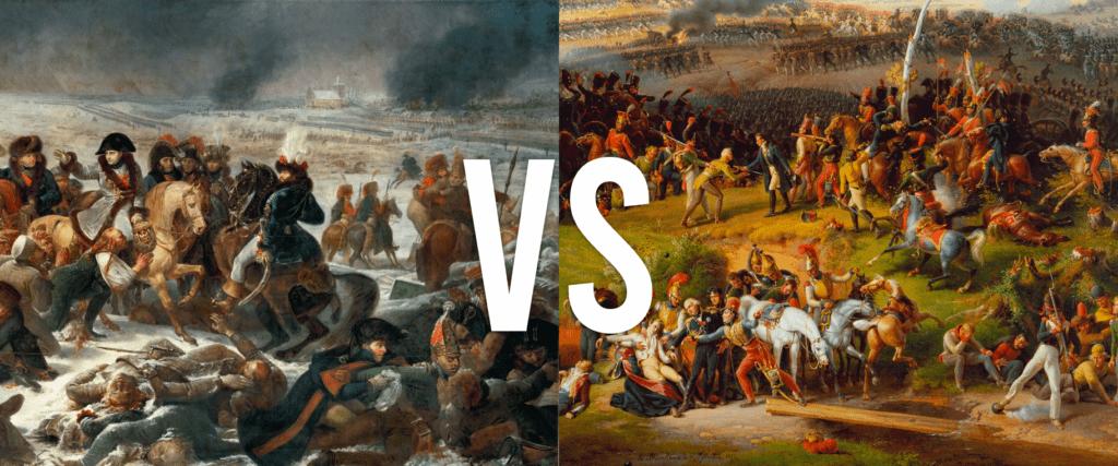 Eylau vs Moskova