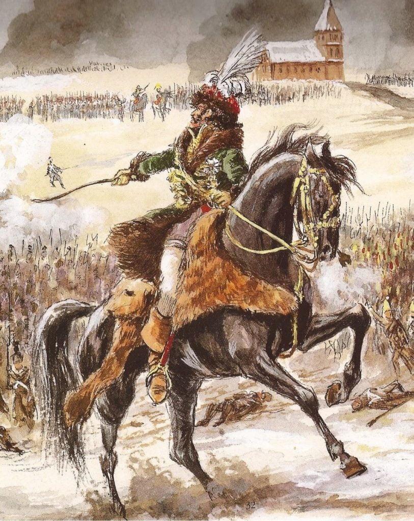 Murat à la bataille d'Eylau