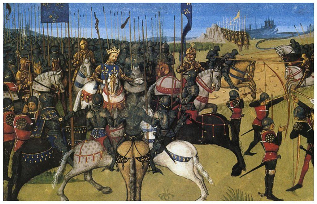 Philippe Auguste à la bataille de Bouvines