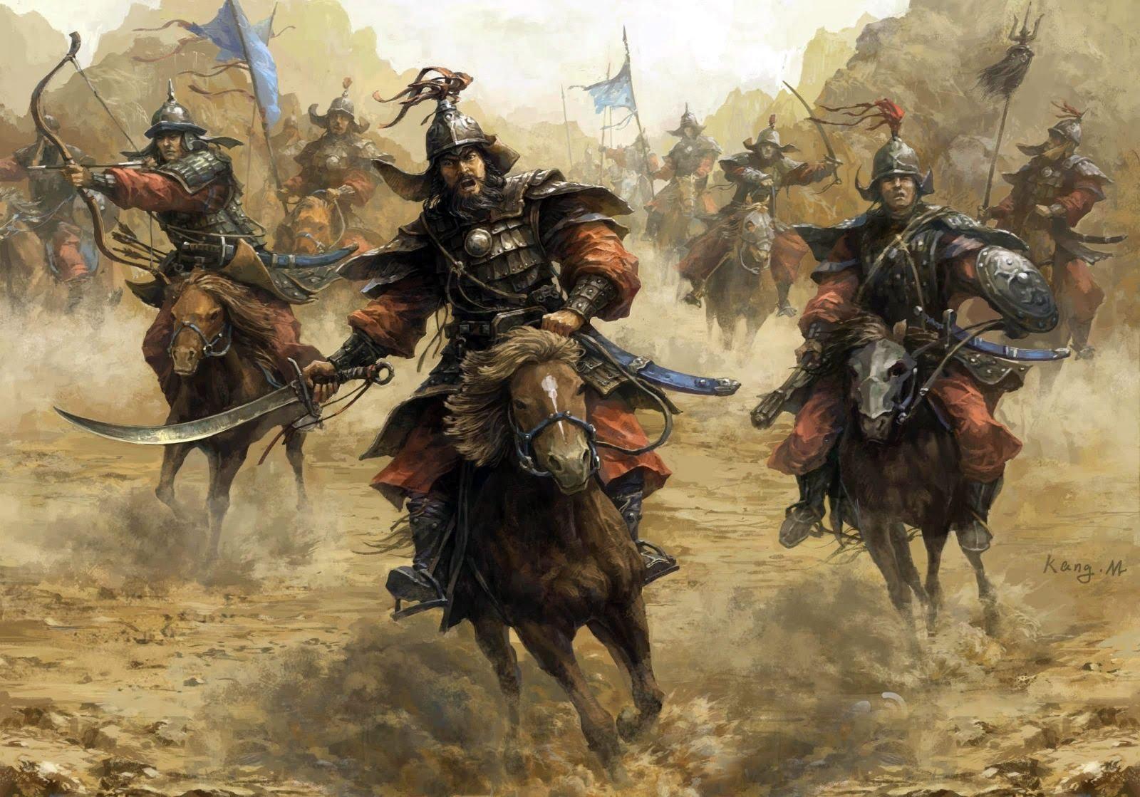 armée mongole
