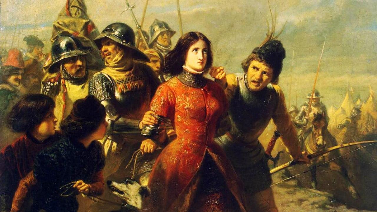 Capture de Jeanne d'Arc par les bourguigons