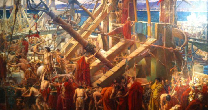 Archimède défend Syracus