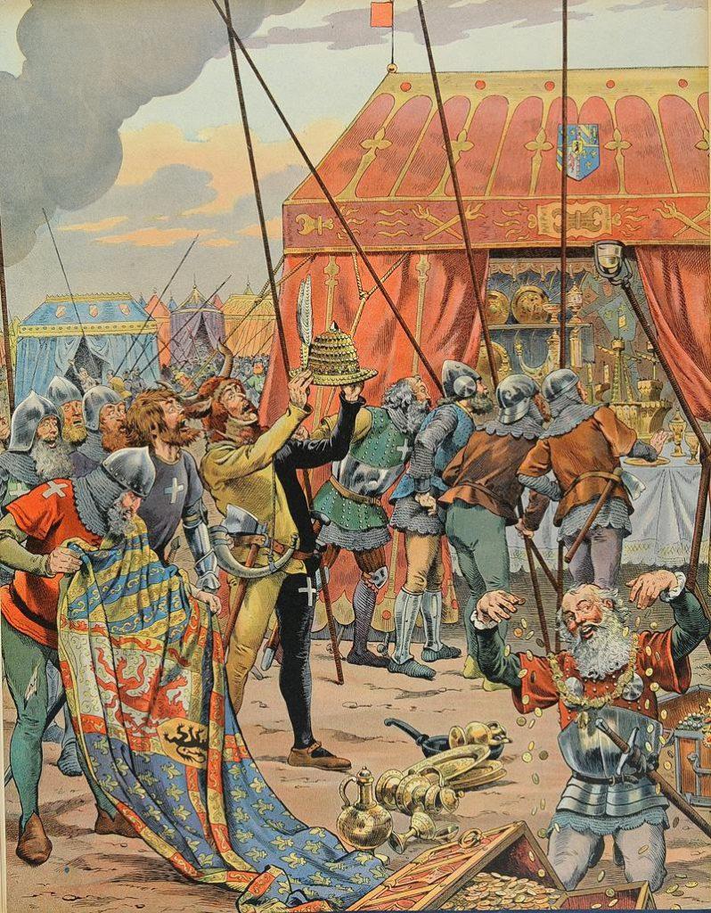 Victoire des troupes de Louis XI