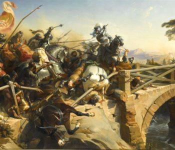 Bayard sur le pont du Garigliano