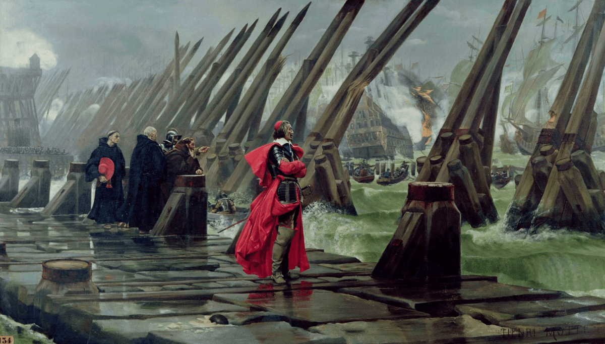 Le siège de la Rochelle