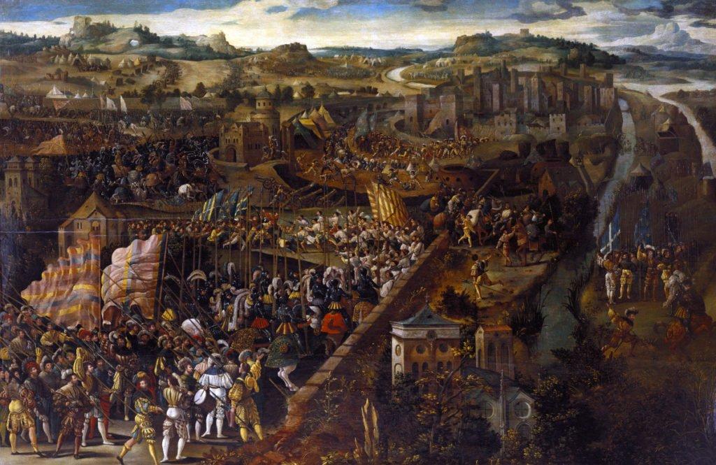François Ier et Charles Quint et la Bataille de Pavi