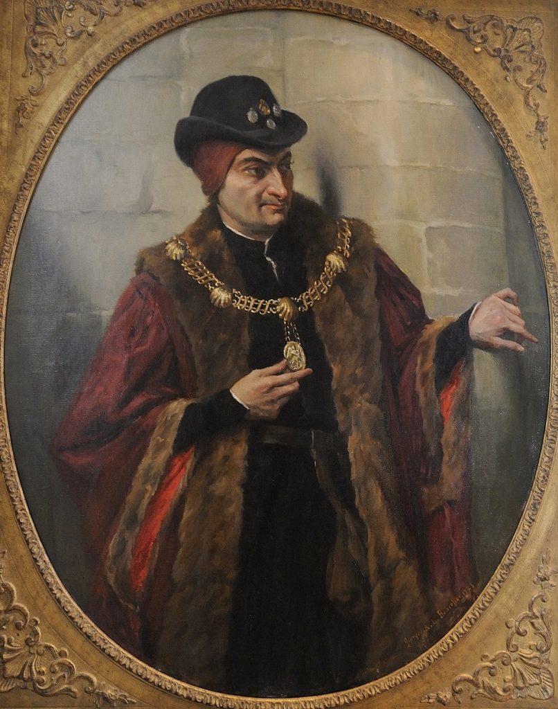 Louis XI l'arraigné