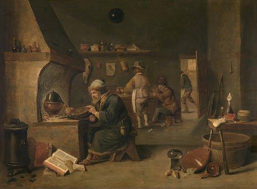 Portrait d'Alchimiste