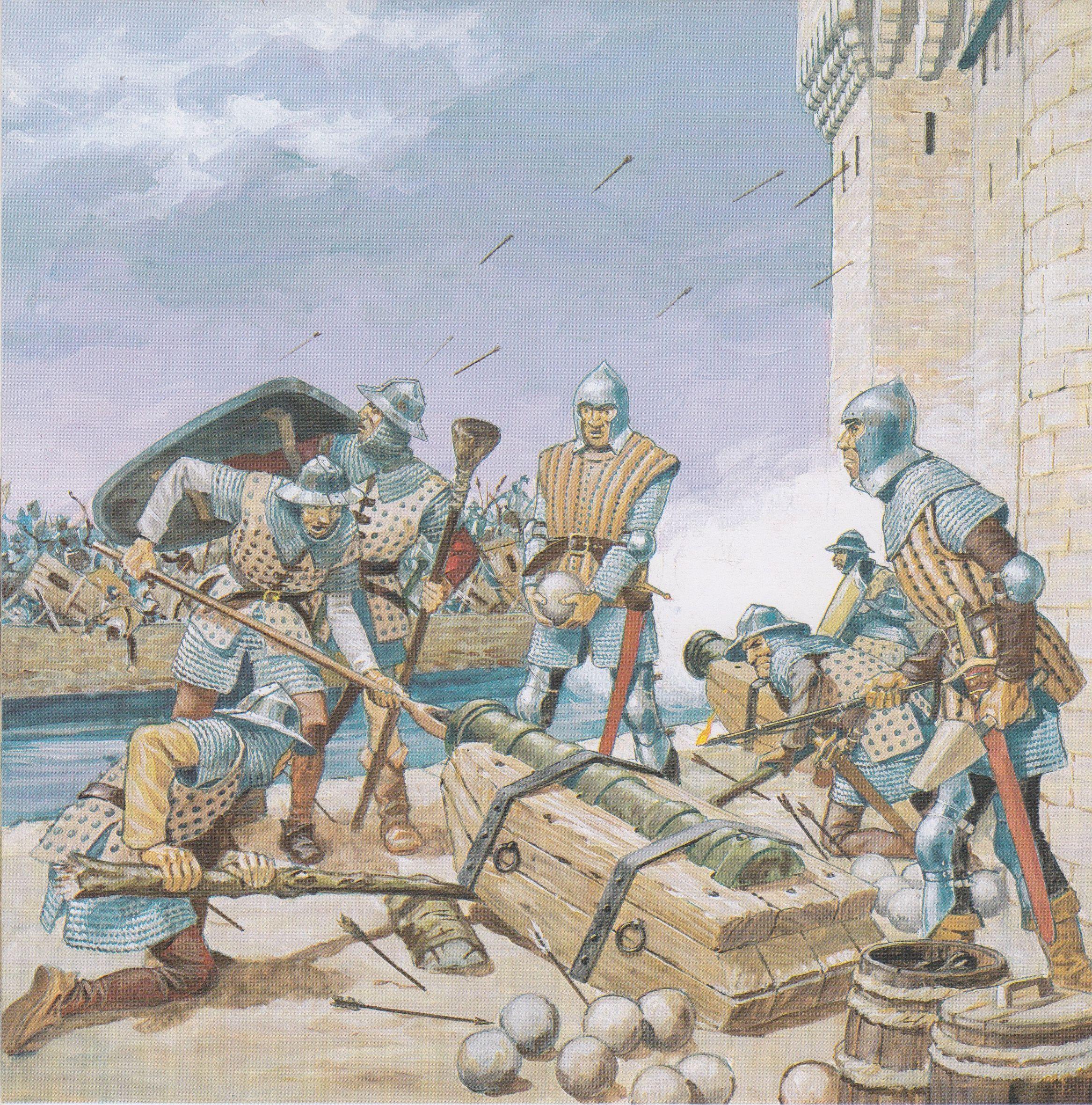 Artillerie médiévale