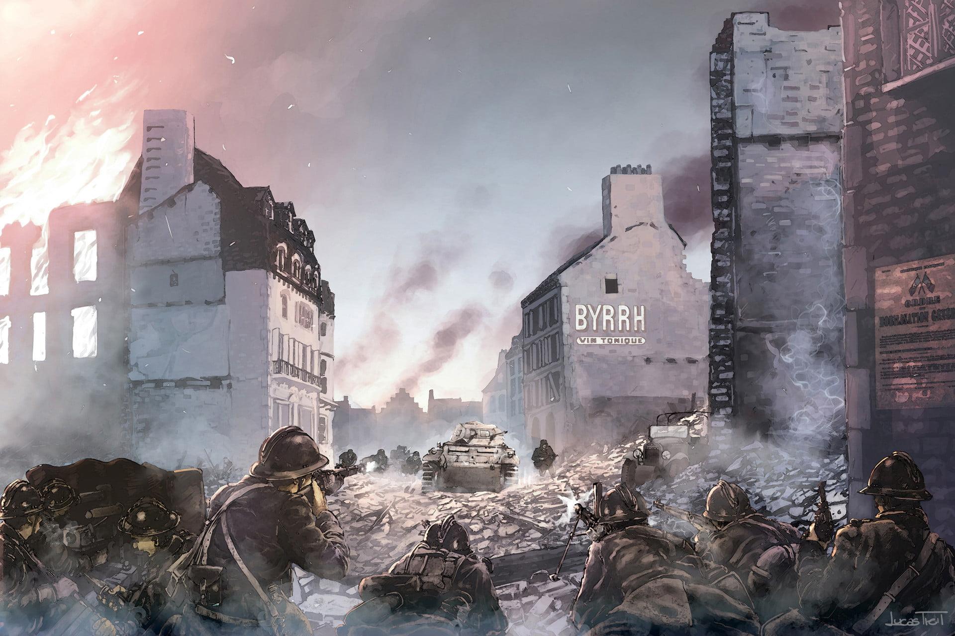 combats dunkerque juin 1940, bataille de france