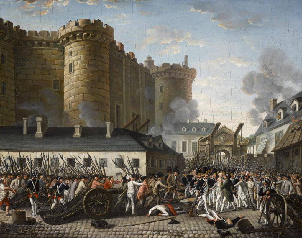 Prise de la Bastille, révolution française