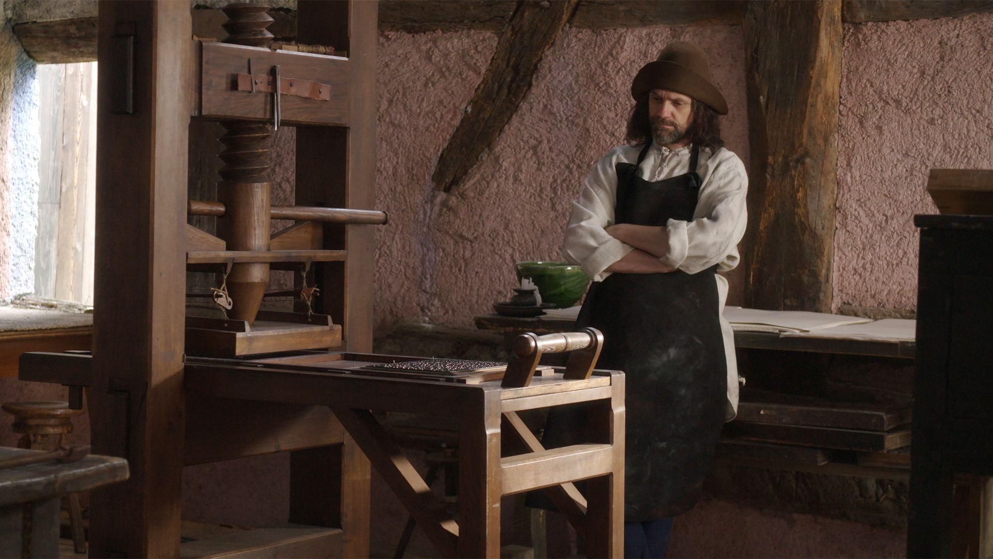 Europe, imprimerie et Gutenberg