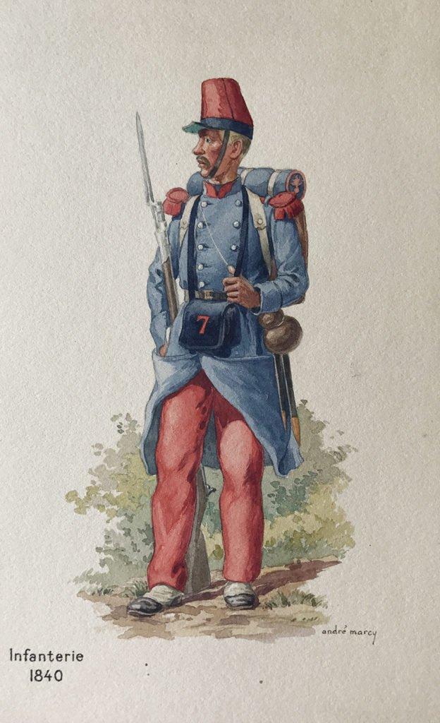 1840 Infanterie française