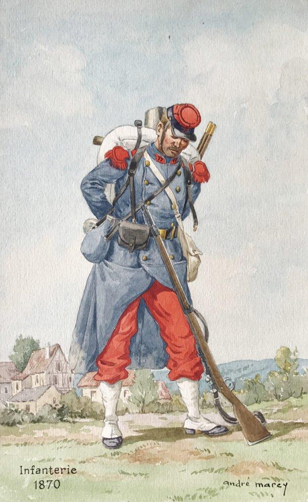 1870 second empire infanterie