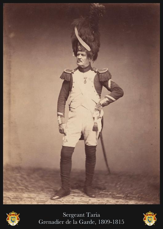 Grenadier de la garde impériale, sergent