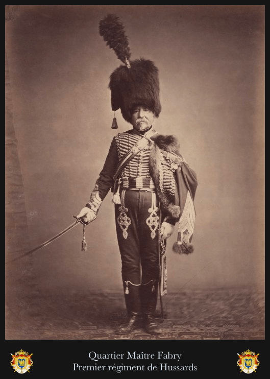 Photographie Hussard, premier empire