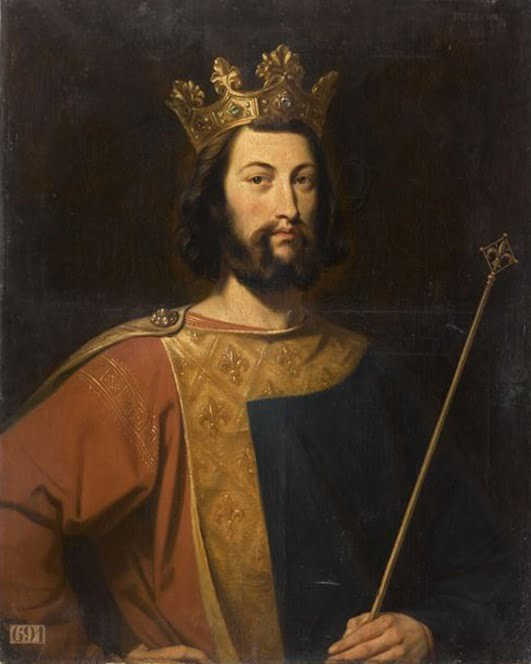 portrait Louis VII