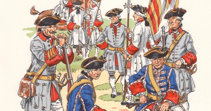 Soldats de la Nouvelle-France, ancien régime
